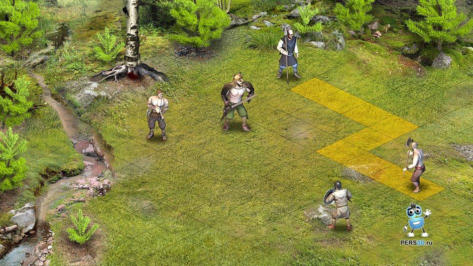 Визуальный прототип компьютерной игры