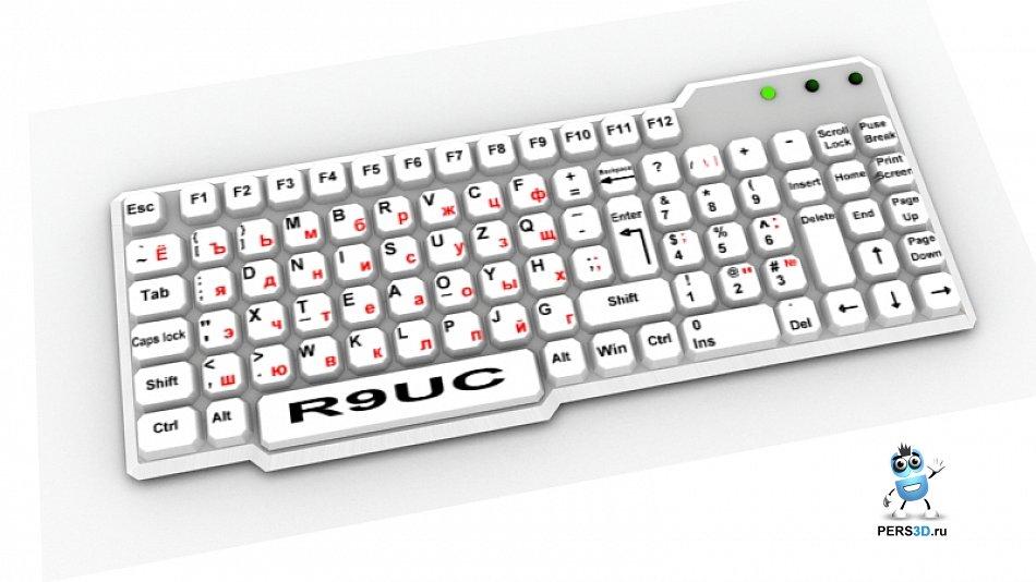 клавиатура для печати одной рукой