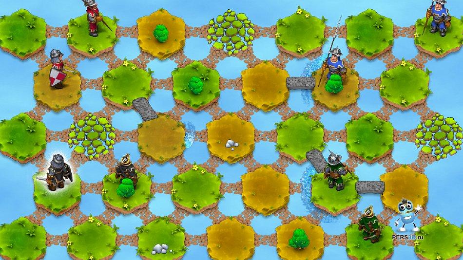 скриншот с персонажами из игры Hexland Tales
