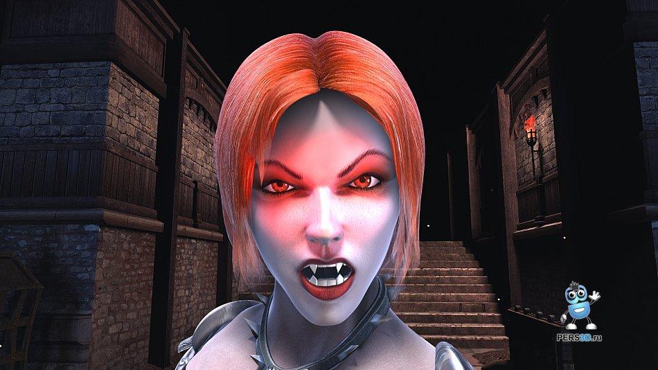 кадр из ролика для компьютерной игры