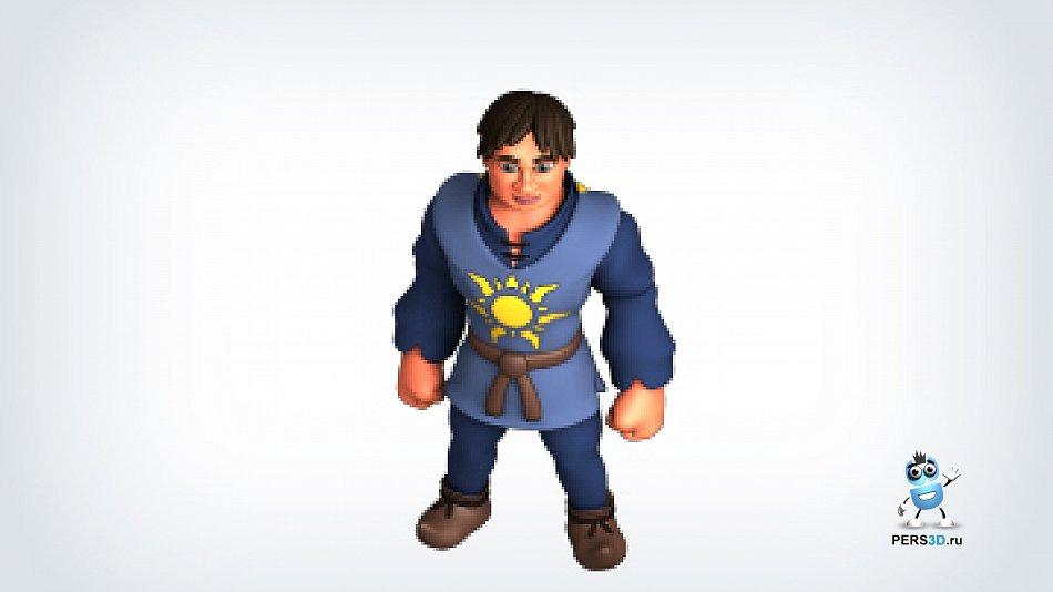 Главный персонаж - мужчина